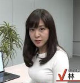 林美桜アナの胸の大きさが話題